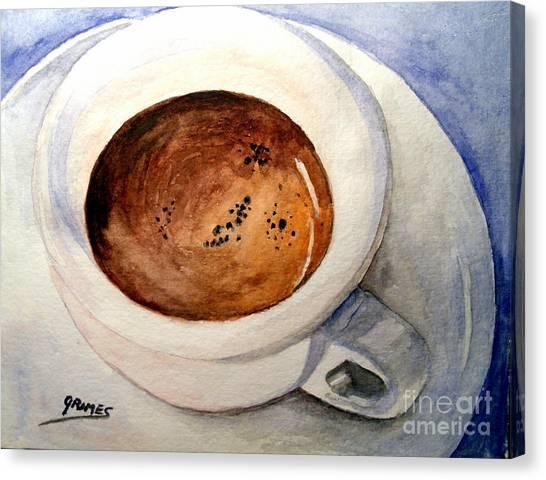 Morning Espresso Canvas Print