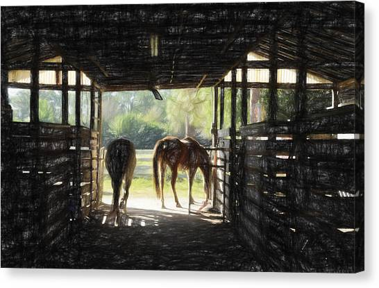 Morning Exit II Canvas Print
