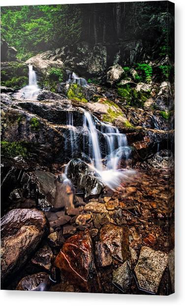 Morning Falls  Canvas Print