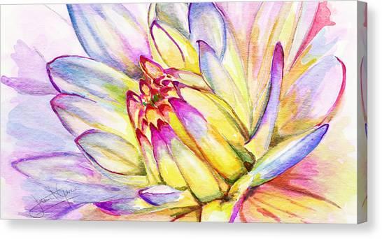 Morning Flower Canvas Print