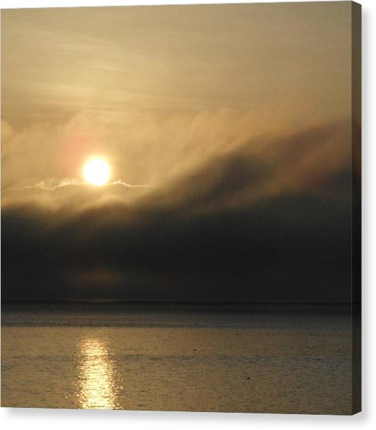 Morning Fog Canvas Print by A Cyaltsa Finkbonner