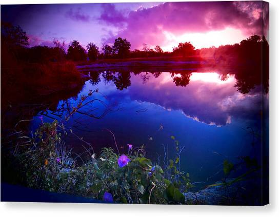 Morning Glory Sky Canvas Print