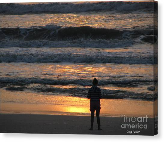 Morning Has Broken Canvas Print by Greg Patzer
