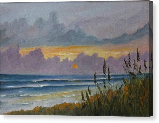 Morning Has Broken Canvas Print by Rosie Brown