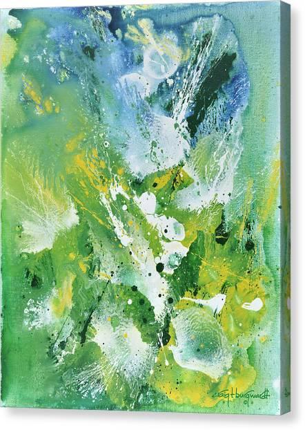 Morning Hillside Canvas Print