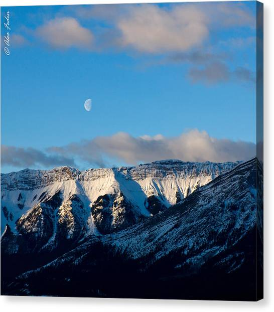 Morning In Mountains Canvas Print