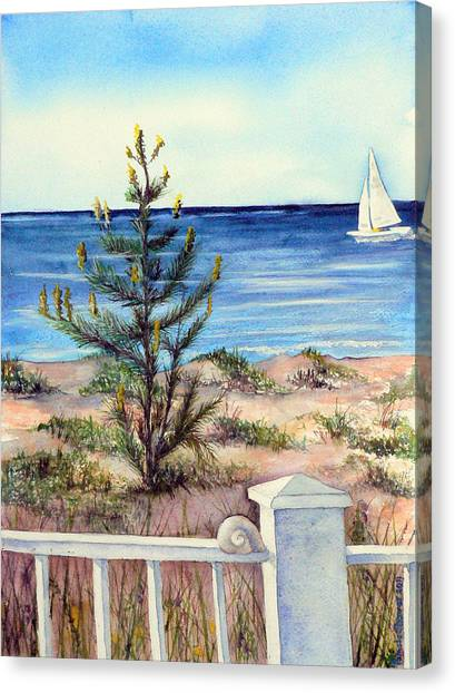 Morning In The Hamptons Canvas Print
