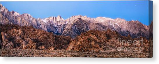 Morning Light Mount Whitney Canvas Print