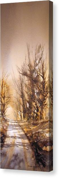 Morning Light Canvas Print by Roland Byrne