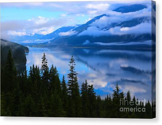 Morning Mist Rising Canvas Print