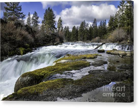 Morning On The Deschutes Canvas Print