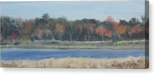 Morning On The Maurice River Canvas Print
