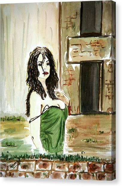 Morning Passion Canvas Print