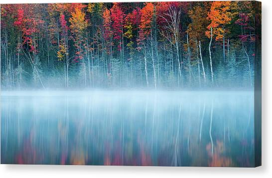 Atmosphere Canvas Print - Morning Reflection by John Fan
