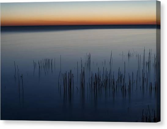 Lake Michigan Canvas Print - Morning by Scott Norris