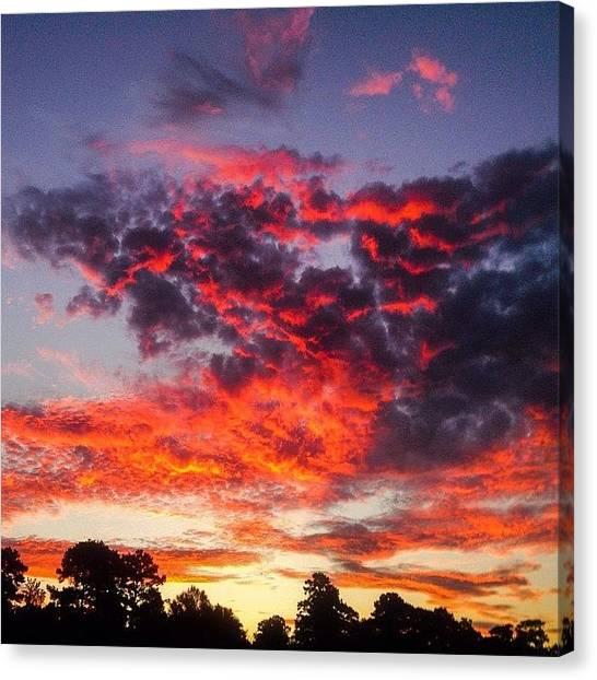 Sunrises Canvas Print - Morning Sky by Scott Pellegrin