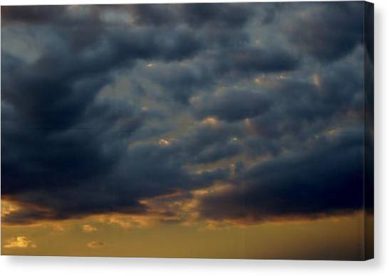 Morning Sky Canvas Print by Yvette Pichette