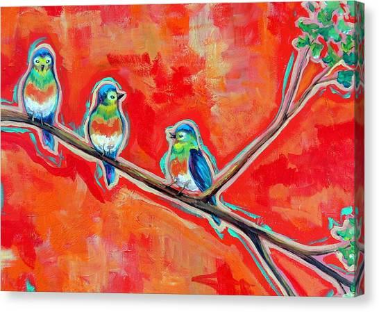 Morning Song Canvas Print by Dawn Gray Moraga