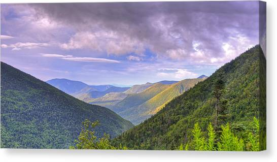 Morning View From Galehead Hut Canvas Print