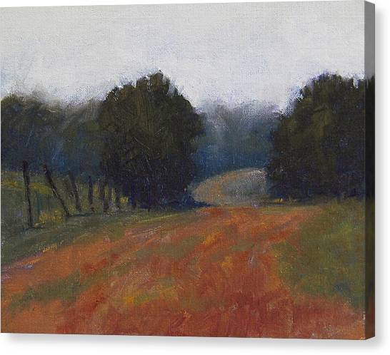 Robert Frank Canvas Print - Morning Walk by Robert Frank