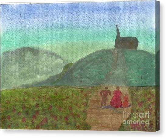 Morning Worship Canvas Print