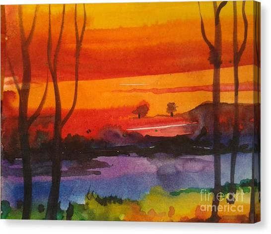 morning X Canvas Print