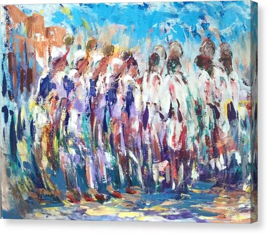 Moroccan Festival 3 Canvas Print
