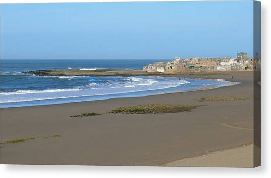 Moroccan Fishing Village Canvas Print