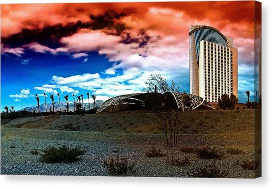 Morongo Casino Canvas Print