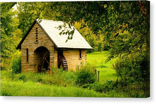 Morris Pumphouse Canvas Print