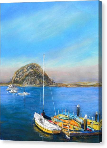 Morro Bay California Canvas Print