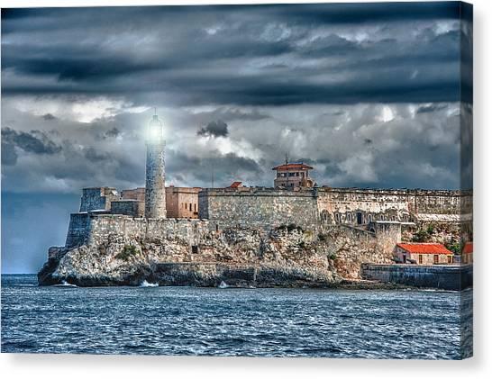 Morro Castel Canvas Print