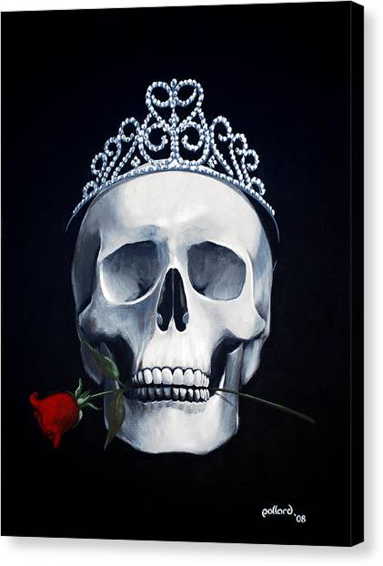 Mortal Beauty Canvas Print