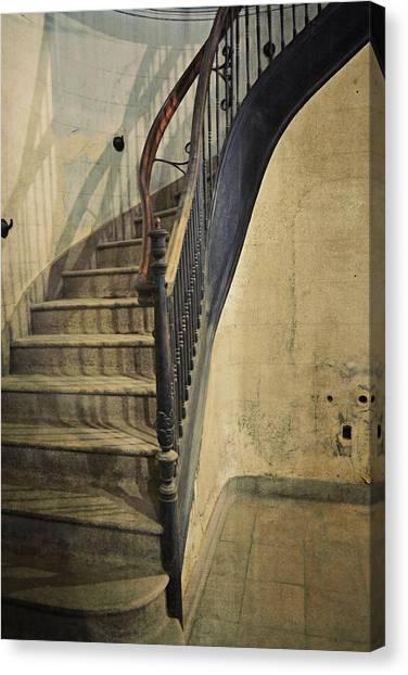 Morton Hotel Stairway Canvas Print