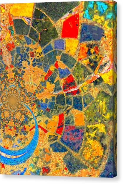 Mosaik Canvas Print by Nico Bielow