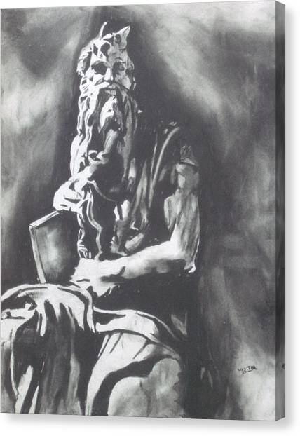 Moses Canvas Print by Jeremy Moore