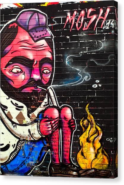 Mosh Wall Art Canvas Print