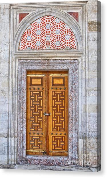 Mosque Doors 04 Canvas Print
