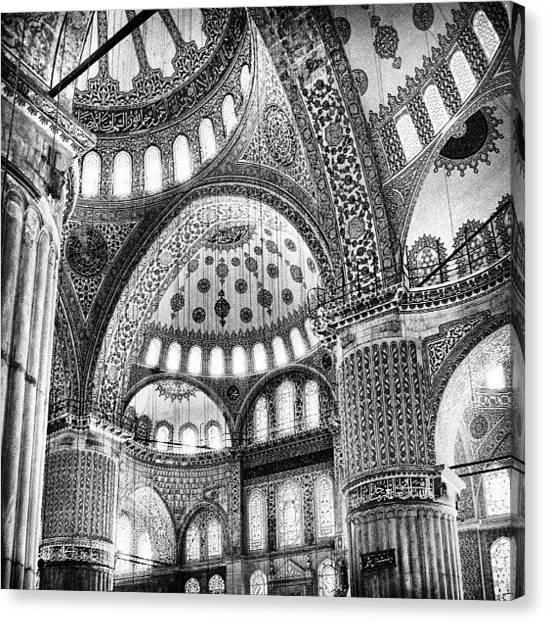 Turkish Canvas Print - Mosque by Ernesto Cinquepalmi