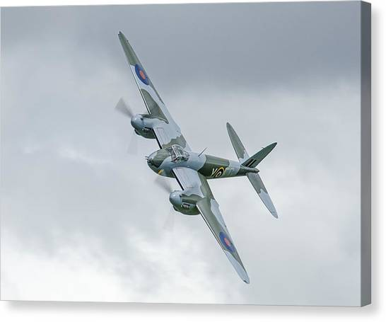 Mosquito At Ardmore Canvas Print by Barry Culling