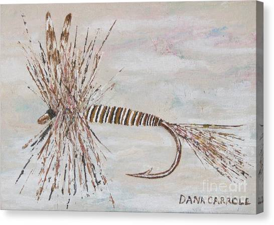 Mosquito Dry Fly Canvas Print by Dana Carroll