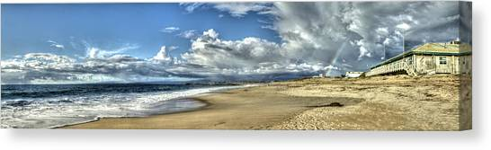 Moss Landing After The Rain 2 Canvas Print