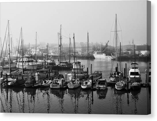 Moss Landing Harbor Canvas Print