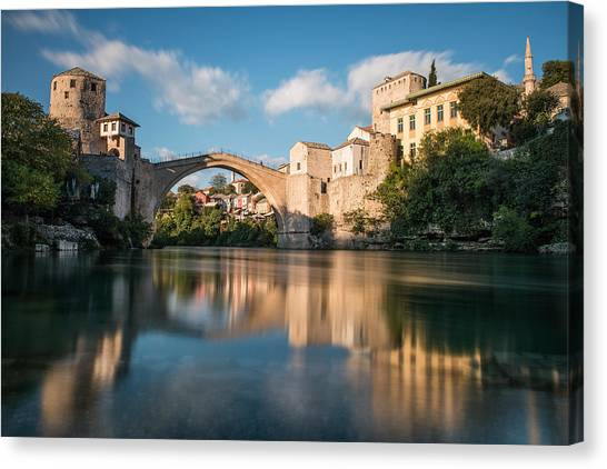 Mostar Bridge Canvas Print