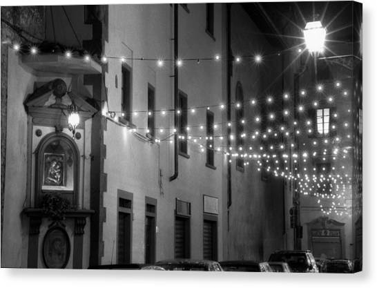 Mother Lights Canvas Print by Visual Stenographer