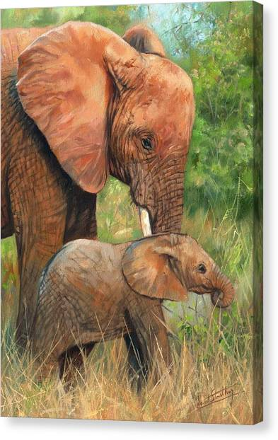 Mother Love 2 Canvas Print