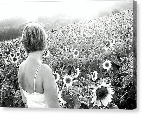 Mother Nature Canvas Print by Dawn Vagts