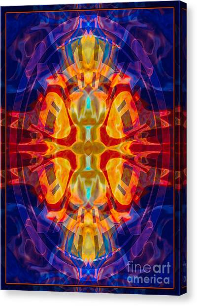 Mother Of Eternity Abstract Living Artwork Canvas Print