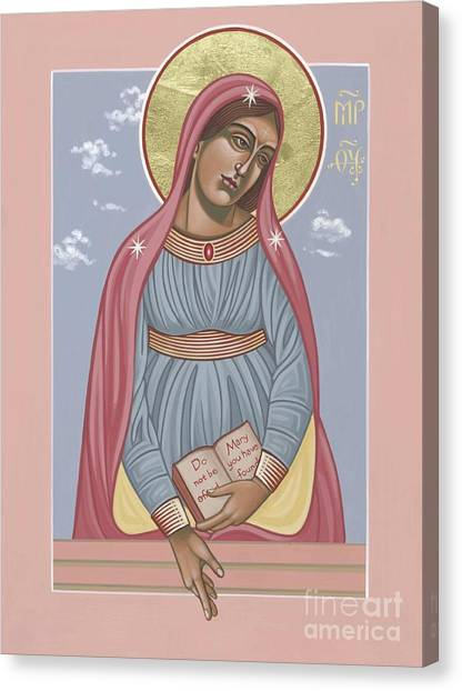Mother Of Holy Hope 263 Canvas Print