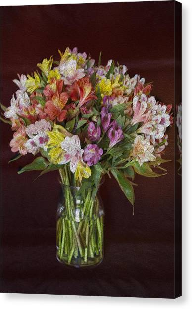 Mother's Day Bouquet Canvas Print